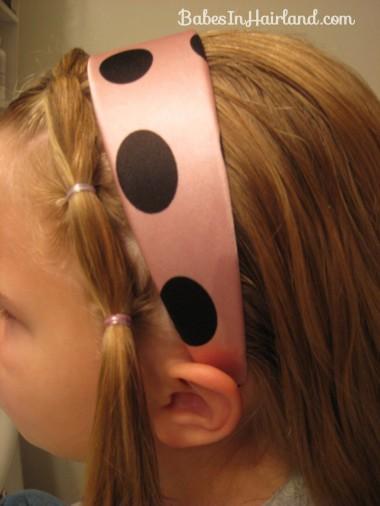Polka Dot Headband Hairstyles (7)
