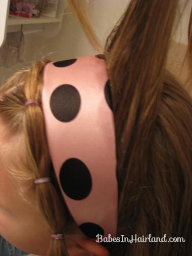 Polka Dot Headband Hairstyles (8)