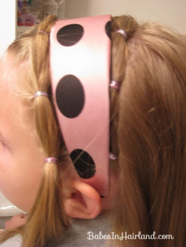 Polka Dot Headband Hairstyles (9)