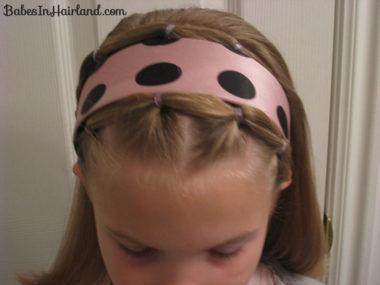 Polka Dot Headband Hairstyles (15)