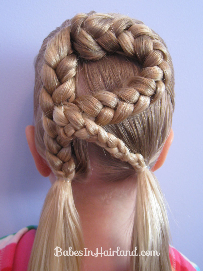 Letter R Hairstyle   Babes In Hairland