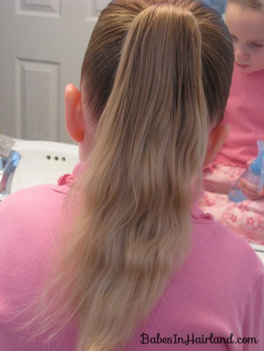 Curls above Ponytail Hairstyle (2)