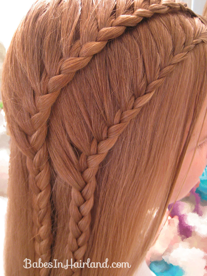 Double 1 Sided French Braids Babes In Hairland