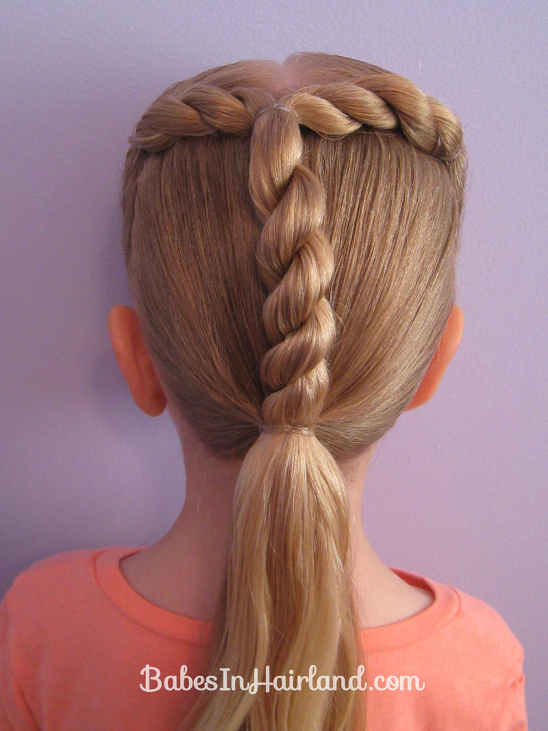 Letter T Hairstyle - Babes In Hairland