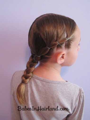 Puffy Braids into a Braid (12)