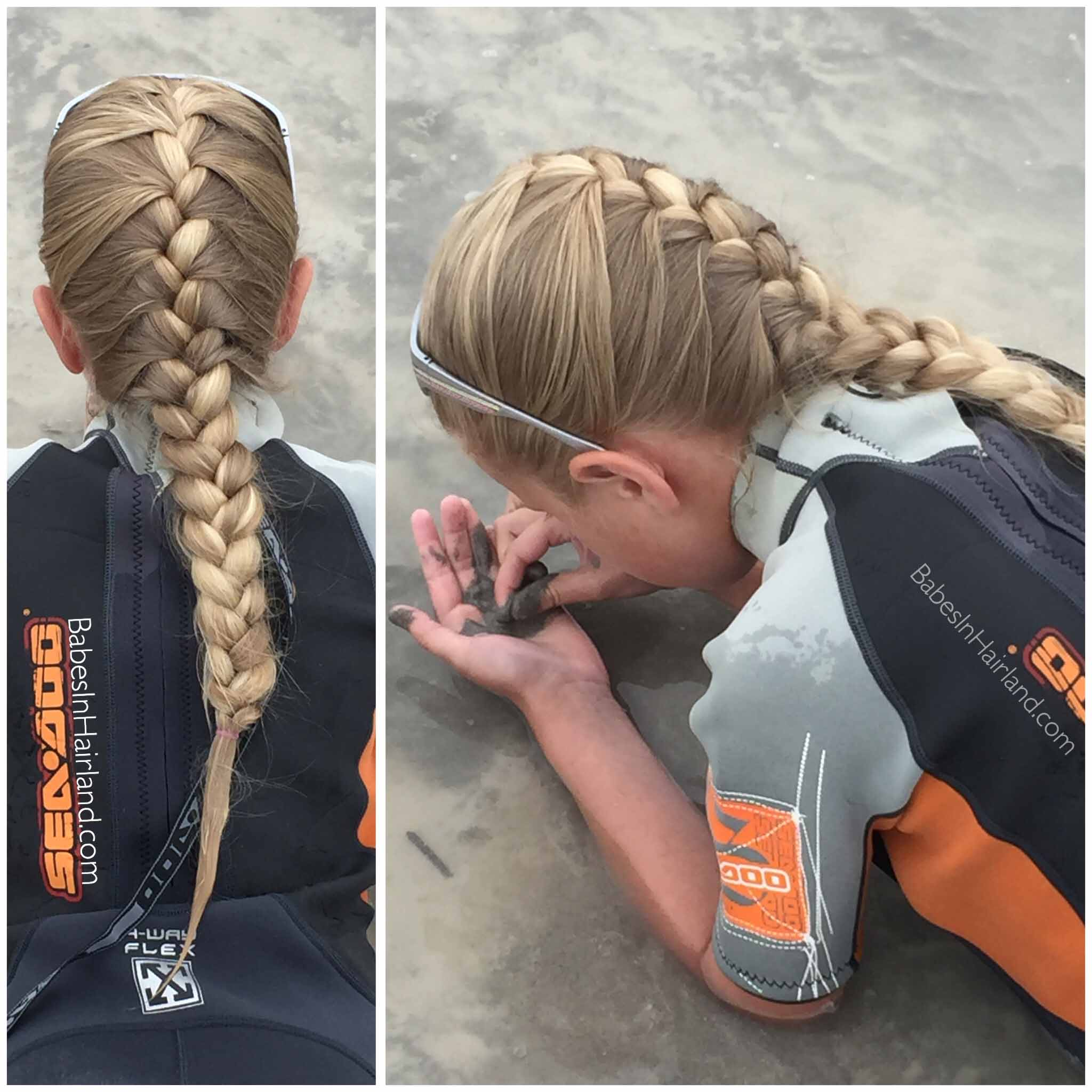 French Braid and Bear Lake from BabesInHairland.com