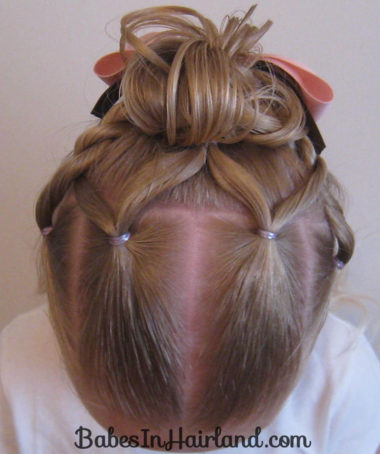 Combo Flower Girl Hairstyle (15)