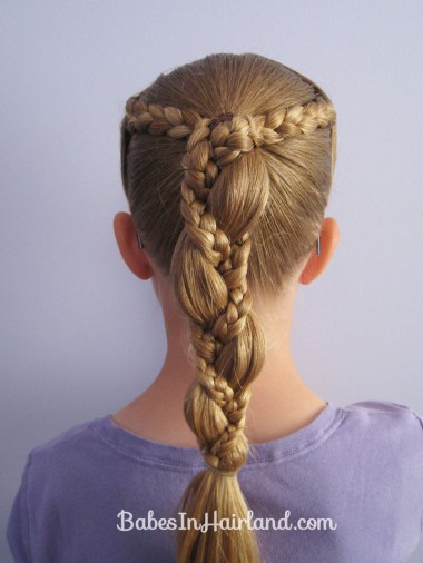 Braid Wrapped Ponytail (6)