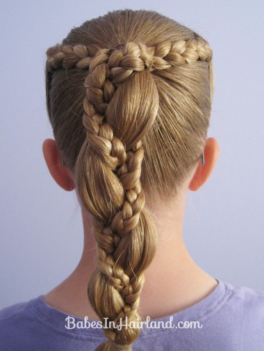 Braid Wrapped Ponytail (3)