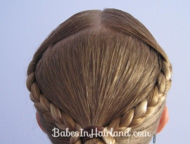 Braid Wrapped Ponytail (2)