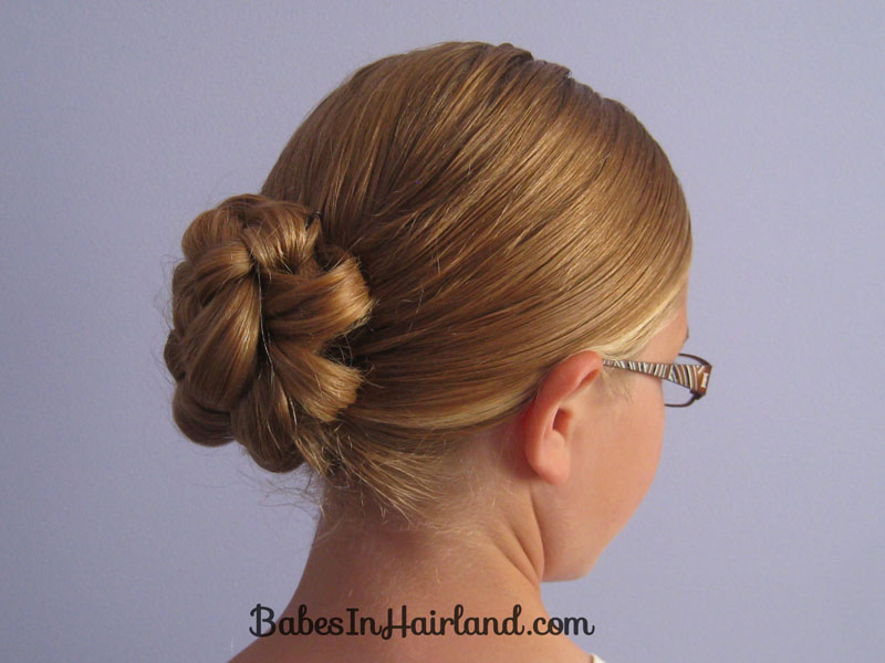 Pleasant Rolled Up 4 Strand Braided Bun Babes In Hairland Hairstyles For Men Maxibearus