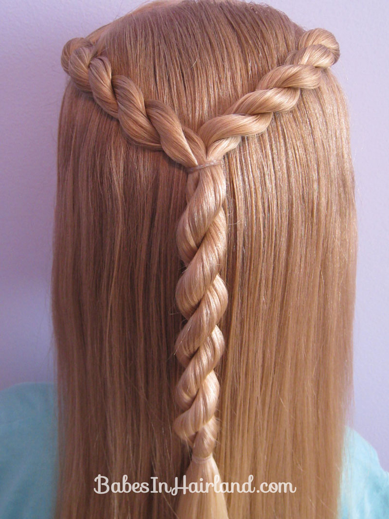 Letter Y Hairstyle - Babes In Hairland