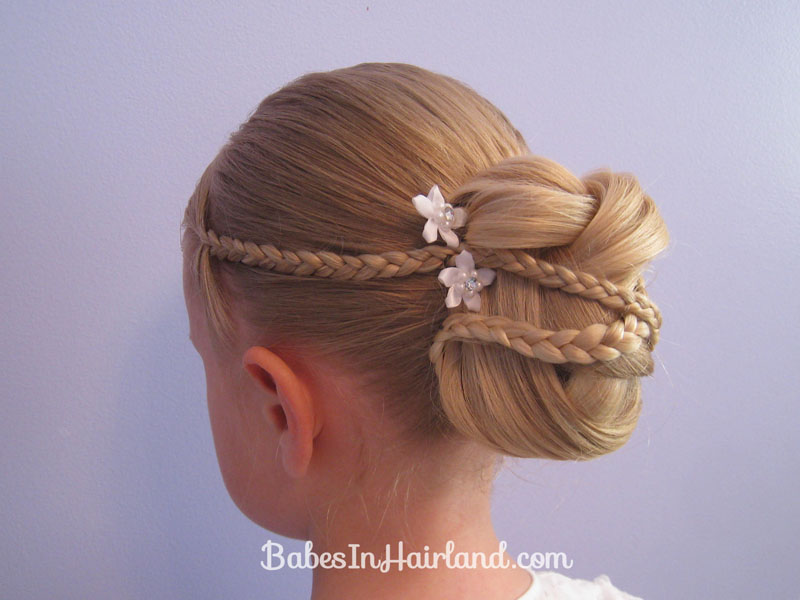 Micro Braid Updo | Wedding Hairstyles (15)
