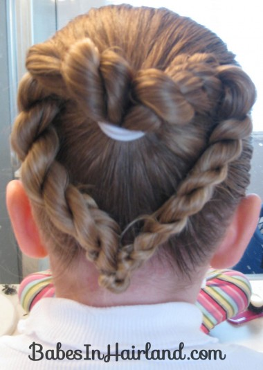 Heart to Heart Valentine Hairstyle (3)