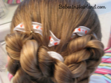 Heart to Heart Valentine Hairstyle (6)