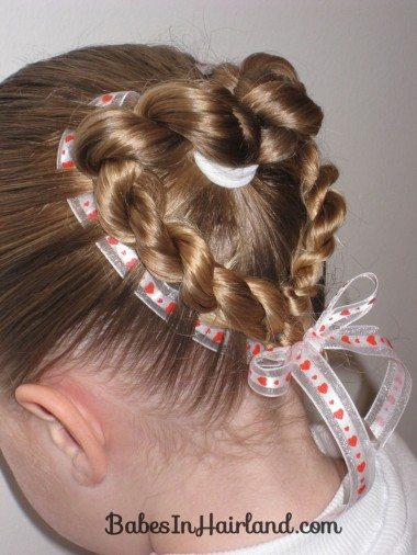 Heart to Heart Valentine Hairstyle (1)