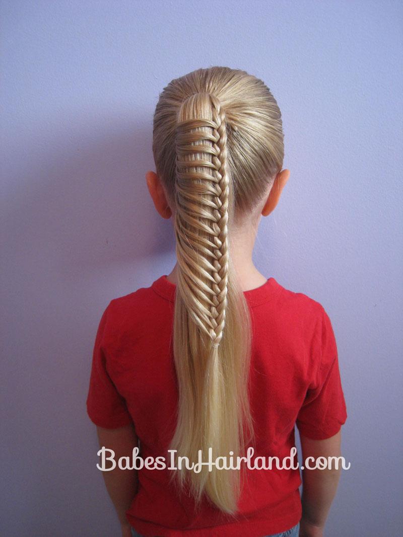 Ladder Braid  Inspired by Pinterest  Babes In Hairland - Cute Girls Hairstyles Instagram