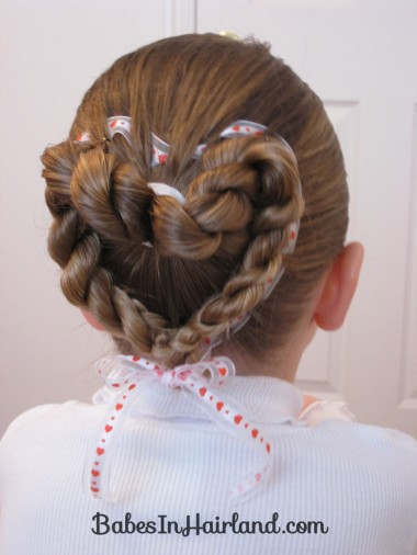 Heart to Heart Valentine Hairstyle (7)