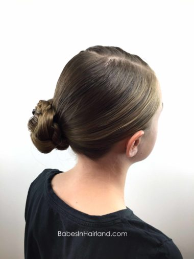 Triple Twists & Bun from BabesInHairland.com #hair #hairstyle #twists #bun
