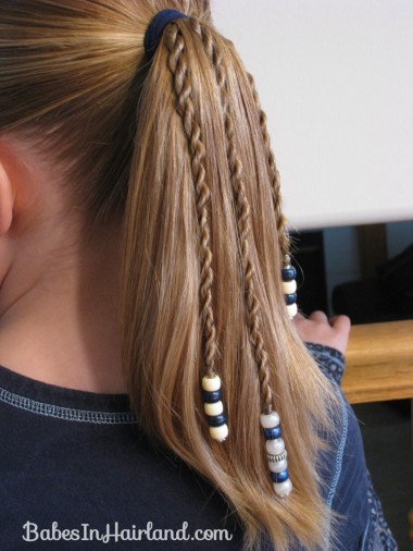 How to add beads to the ends of braids (15)