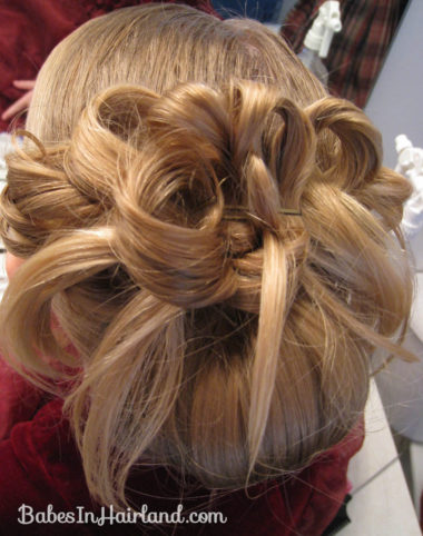 Easter Updo Hairstyle (9)