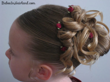 Easter Updo Hairstyle (14)