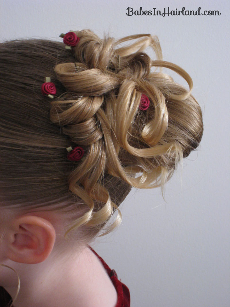 Easter Updo Babes In Hairland