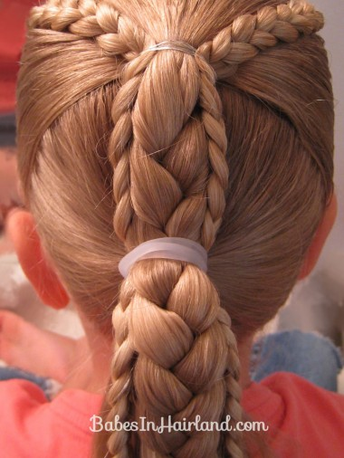 Ponytails and Braids Hairstyle (5)