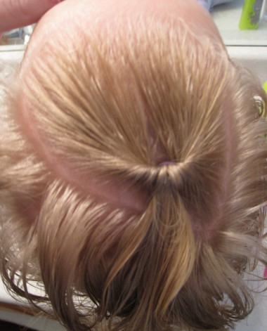 Baby Hair Easter Hairstyle (2)