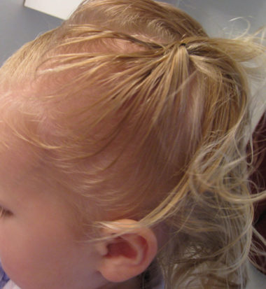 Baby Hair Easter Hairstyle (4)