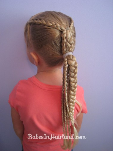 Ponytails and Braids Hairstyle (11)