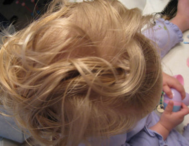 Baby Hair Easter Hairstyle (7)