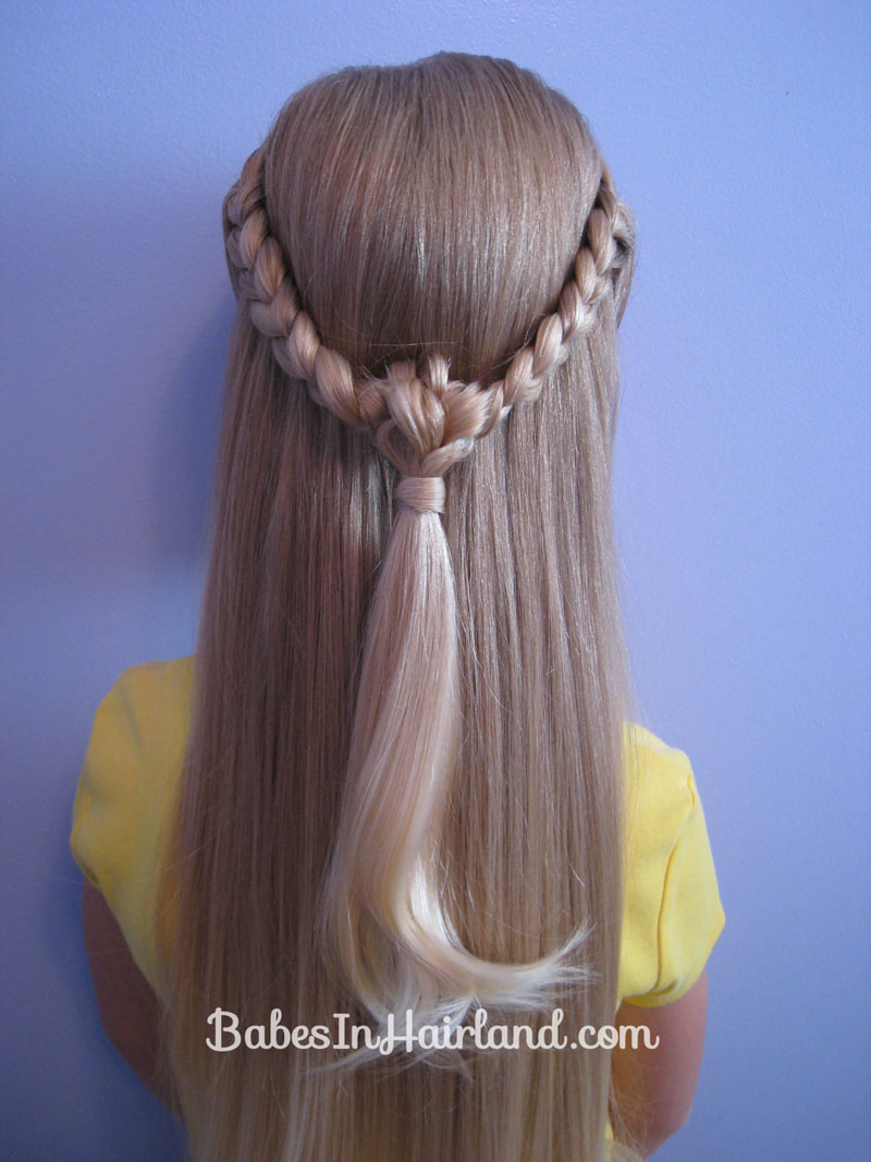 Knotted Braid Pullback Babes In Hairland