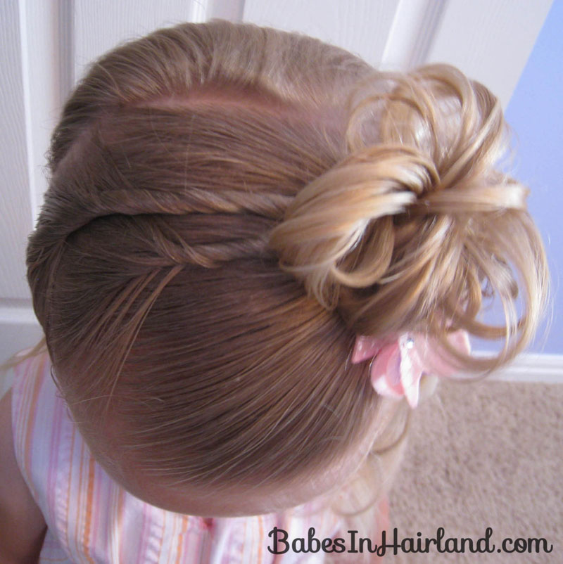 Awe Inspiring 5 Pretty Easter Hairstyles Babes In Hairland Hairstyles For Women Draintrainus