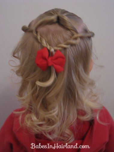 Baby Hairstyle - Twist Braids and Pull Throughs (4)