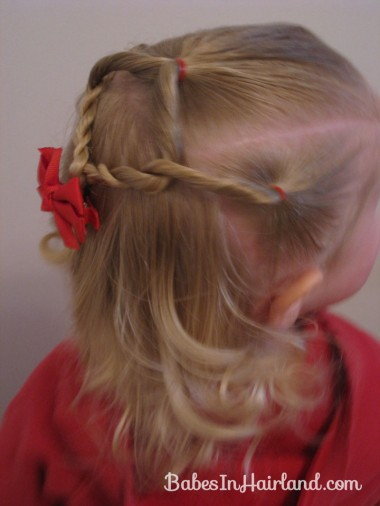 Baby Hairstyle - Twist Braids and Pull Throughs (3)