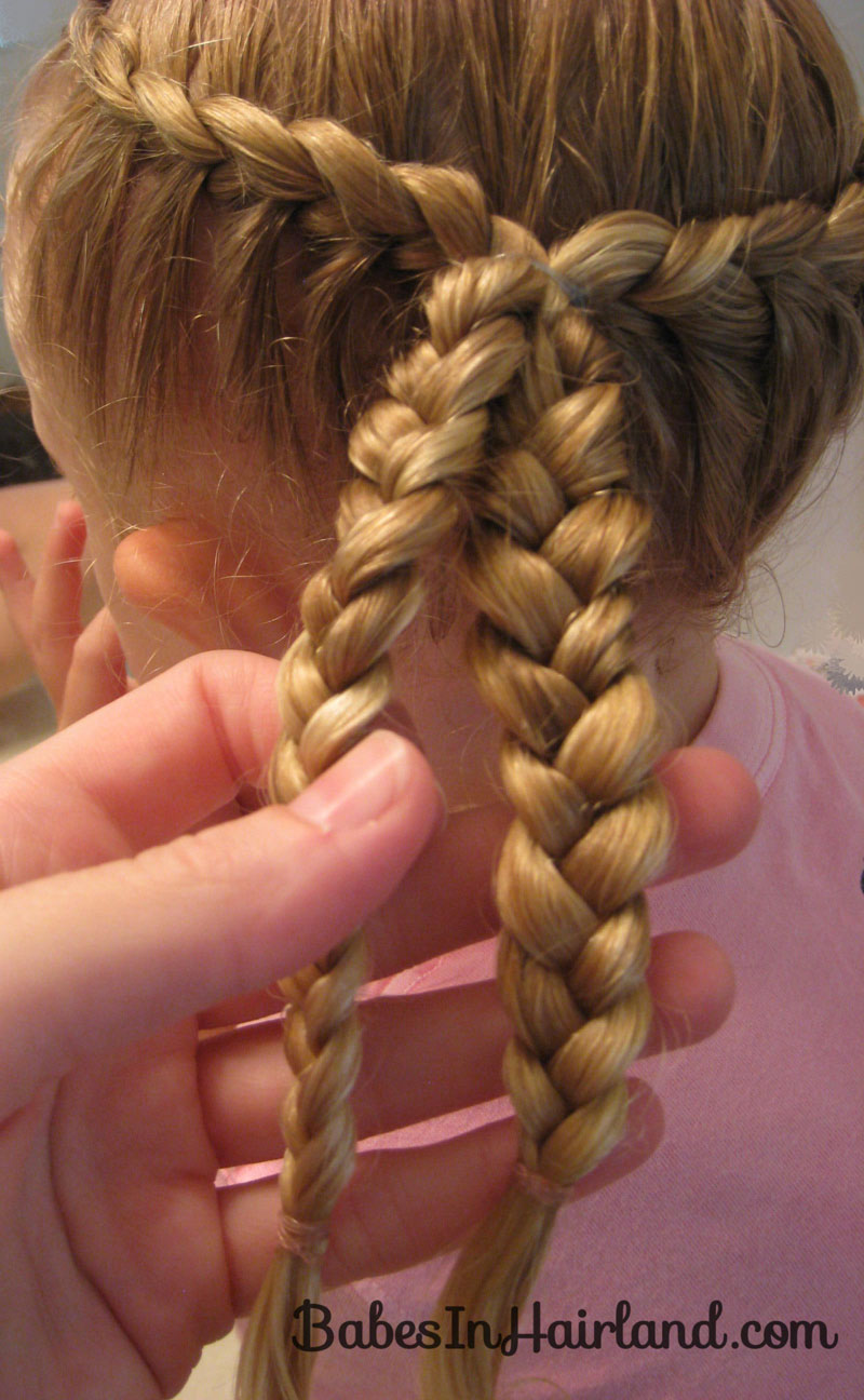 Awesome hair! 2 French braids 1 on each side  Hair