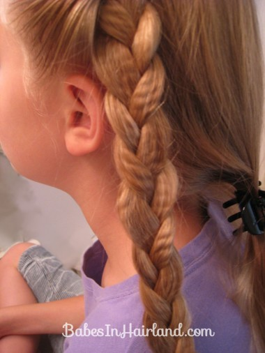 Crimped Braids and Messy Bun (5)