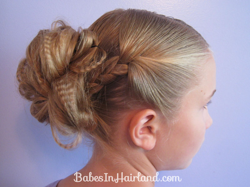 Two Easy Messy Buns for Short or Long Hair Babes In Hairland