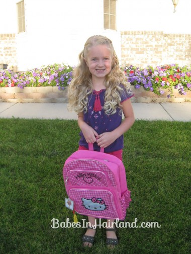 Bee's First Day of School