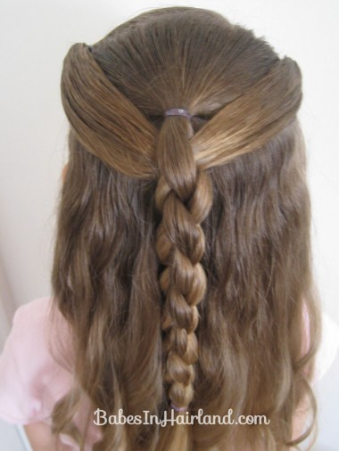 Ponies and 4 Strand Braid (8)