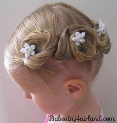 Crown of Pin Curls (15)