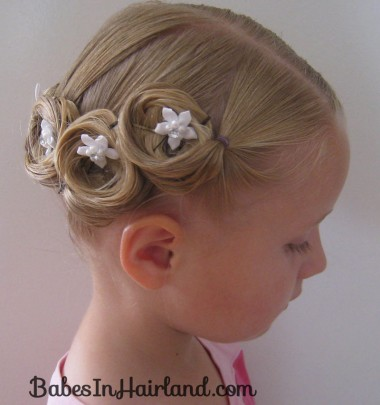 Crown of Pin Curls (13)