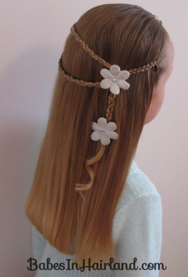 Small Wrap Around Braid Hairstyle (1)