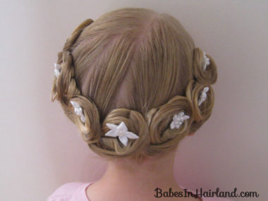 Crown of Pin Curls (16)