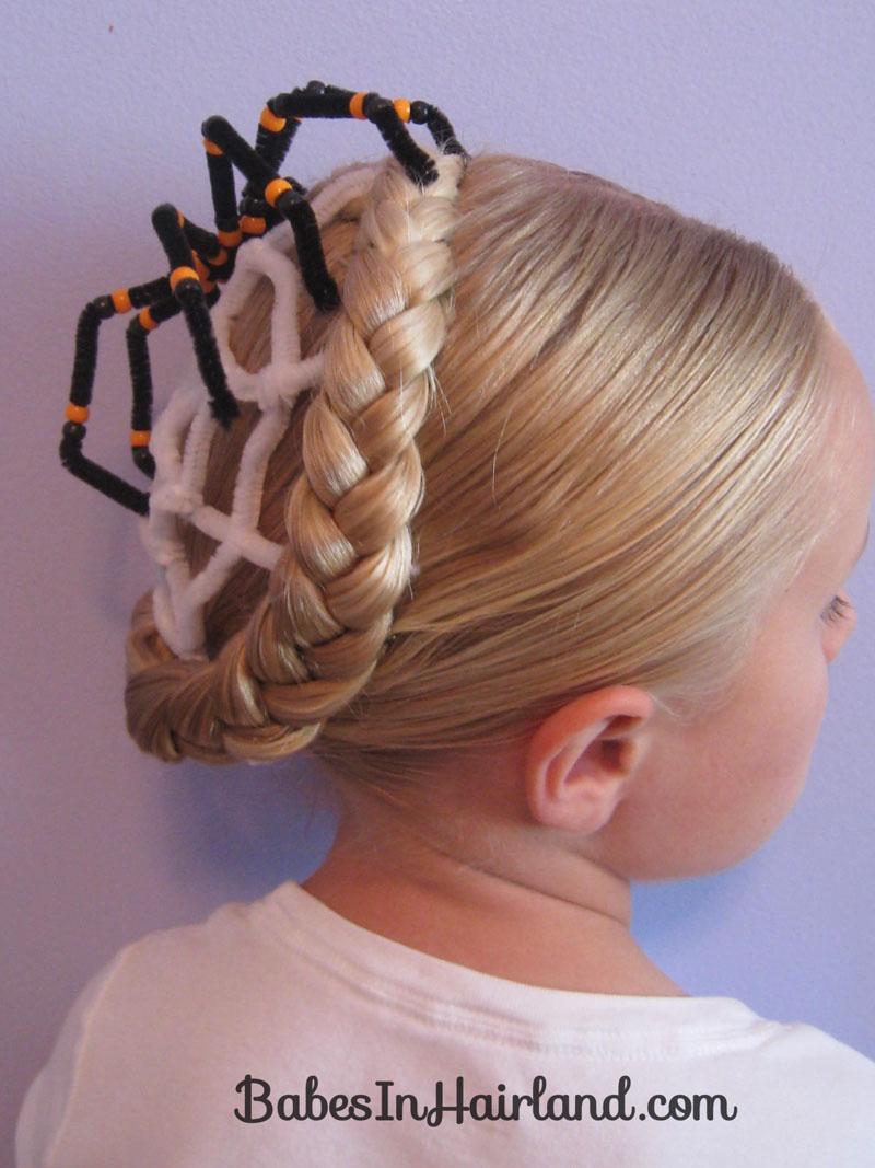 Amazing Spiderweb Hairstyle Halloween Hairstyles 5 Babes In Hairland Natural Hairstyles Runnerswayorg