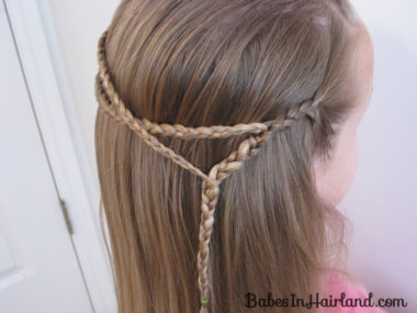 Small Wrap Around Braid Hairstyle (7)