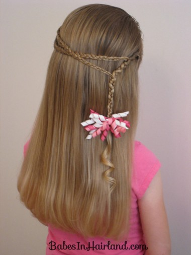 Small Wrap Around Braid Hairstyle (8)