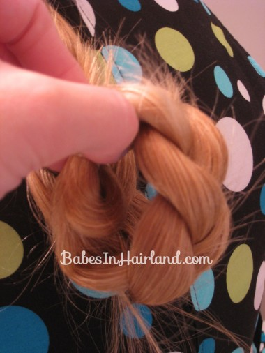 Easy Rolled Braid Updo (7)