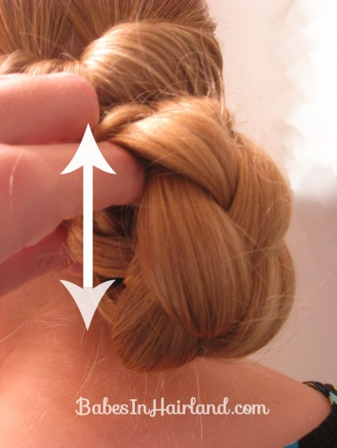 Easy Rolled Braid Updo (8)